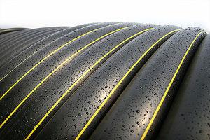 Трубы ПНД для газопровода