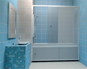 Закрыть низ ванной шторкой где купить