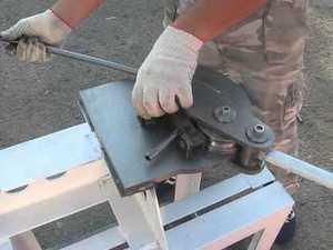 Станок для сгибания профильной трубы своими руками фото 182