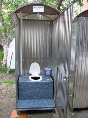 Туалет для дачи своими руками с унитазом