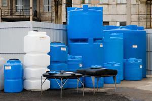 Накопительные пластиковые емкости