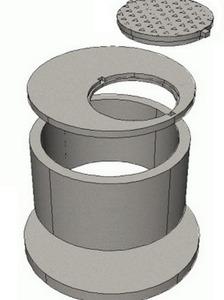 Кольца канализационные железобетонные размеры протечка в плите перекрытия