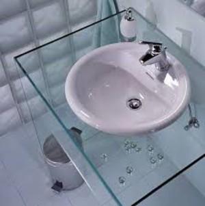 Столешница в ванную своими руками: из чего и 65