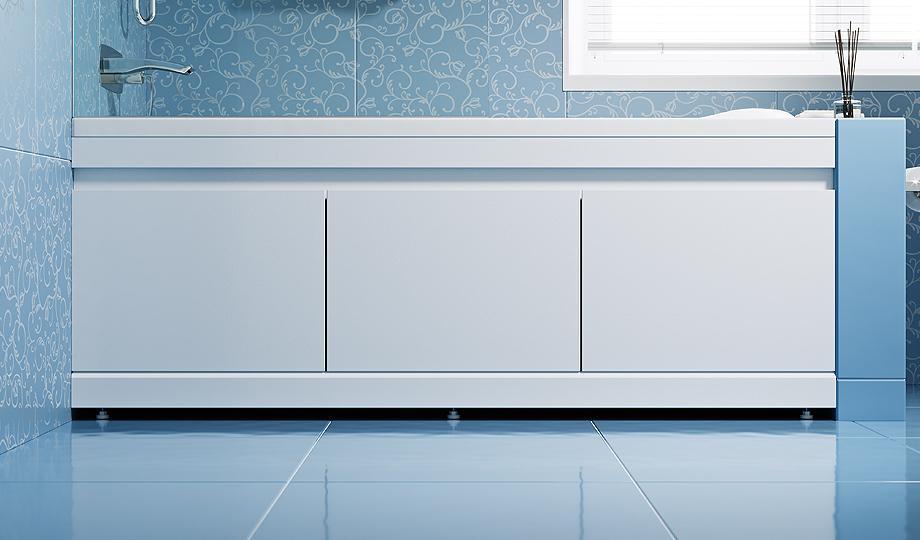 Экраны для ванны: особенности