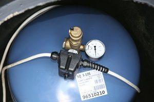 Измерение давления воды