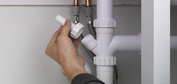 Подключение встроенной посудомоечной машины к водопроводу