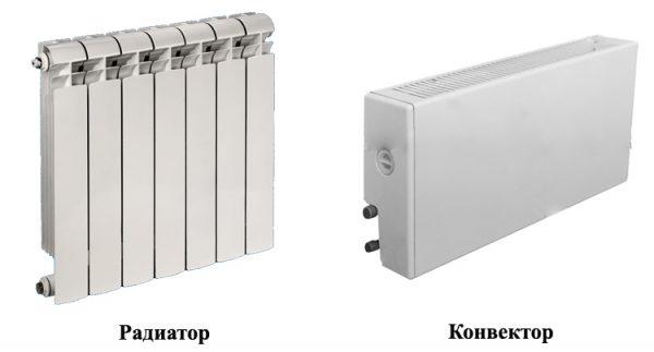 Радиатор и конвектор