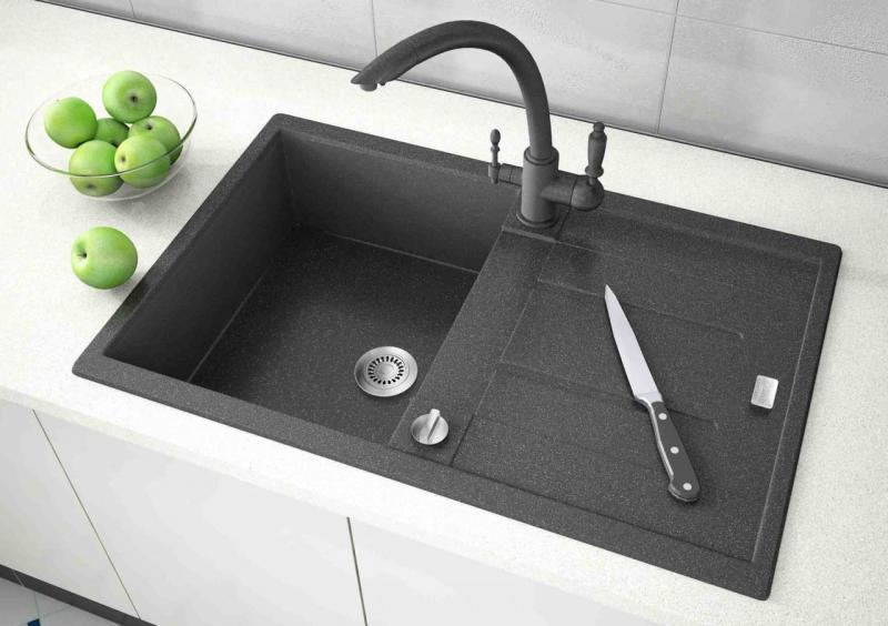 Каменная мойка для кухни — плюсы и минусы