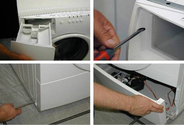 Разбор стиральной машинки