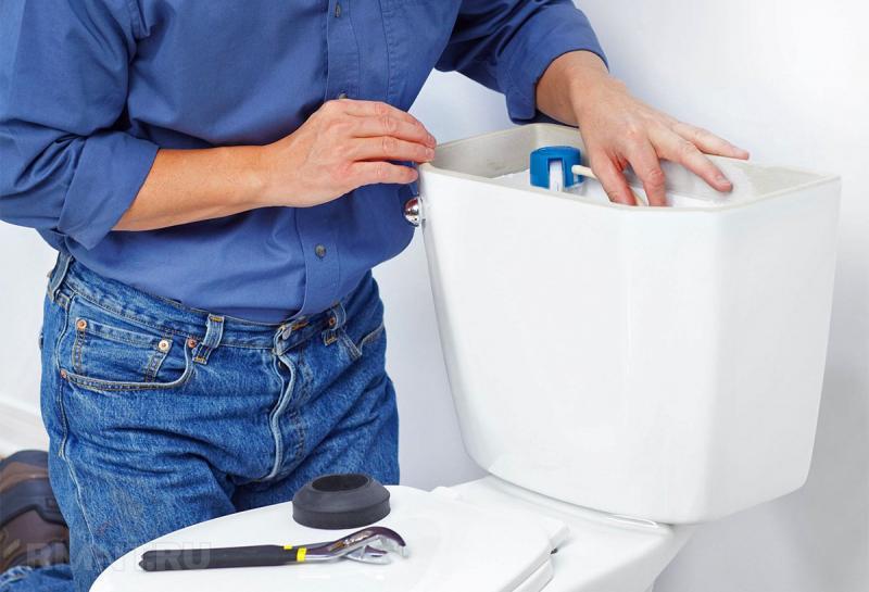 Как собрать бачок унитаза с кнопкой, в том числе и с двойной