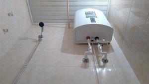 подключить проточный водонагреватель к смесителю