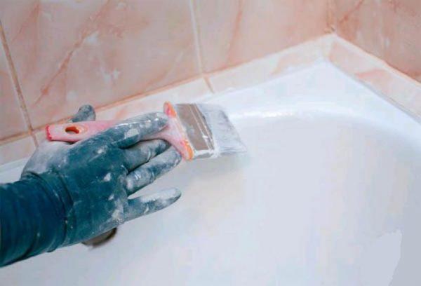 реставрация своими руками жидким акрилом