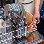 В посудомойке стоит вода — что делать