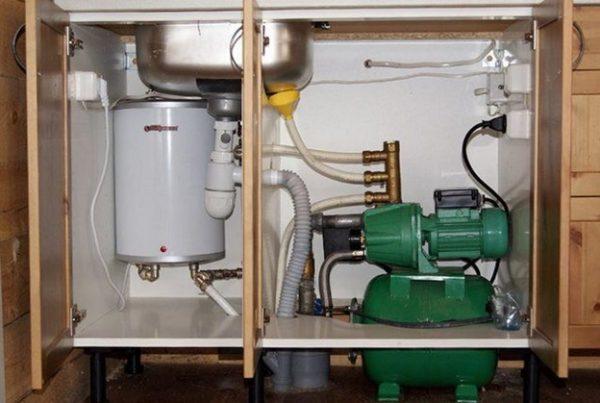Насос для повышения давления воды в квартире после установки