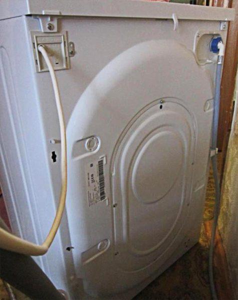 Задняя стенка стиральной машины Индезит