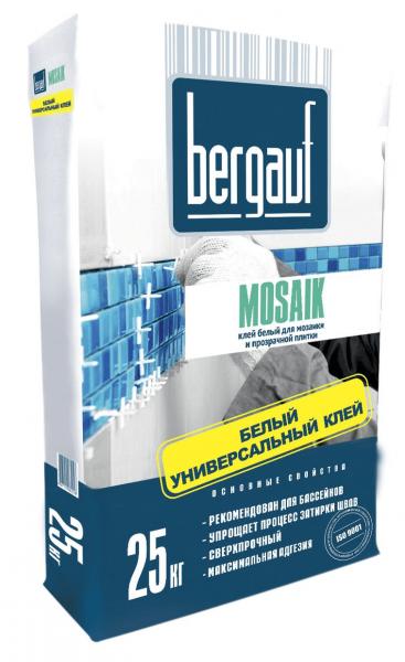 Клей для плитки Bergauf Mosaik
