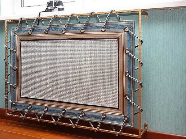 оригинальная решетка на радиатор отопления