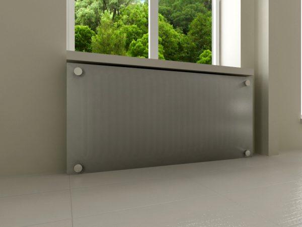 минималистичная решетка на радиатор отопления