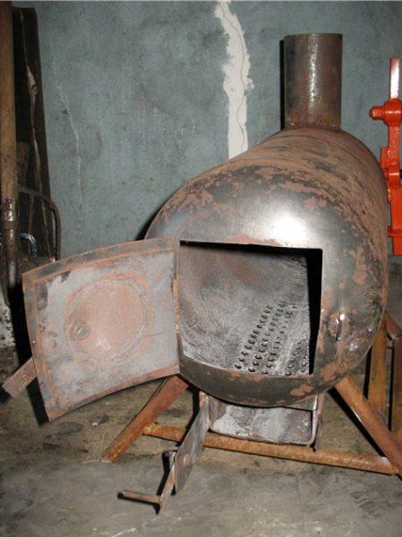 Твёрдотопливная печь — буржуйка