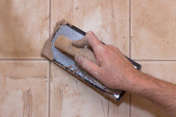 Использование цементной затирки