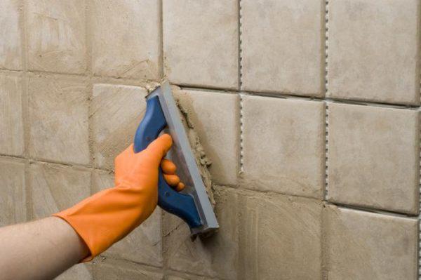 Применение цементно-песчаной затирки