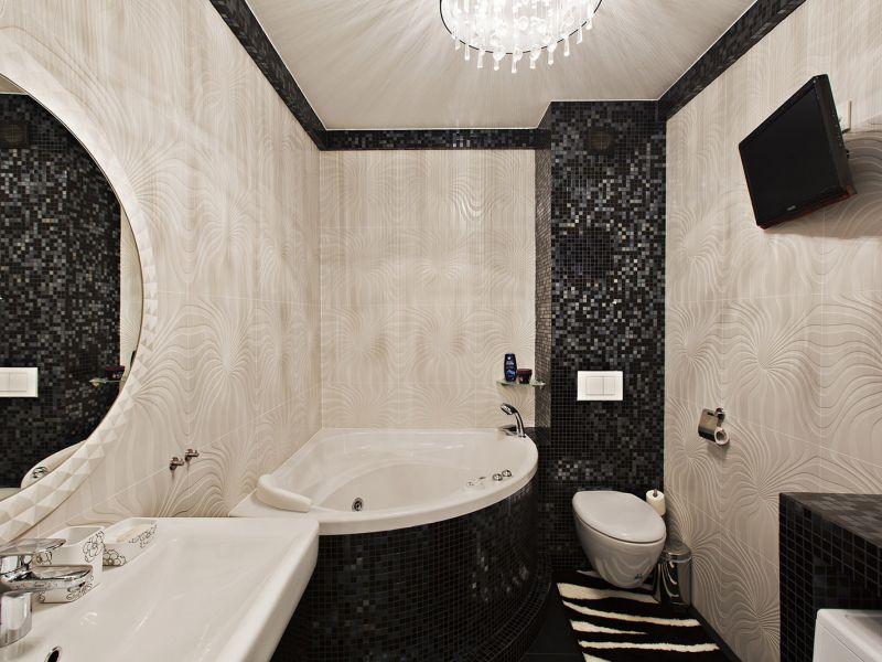 Из чего делать стены в ванной: лучшие варианты отделки