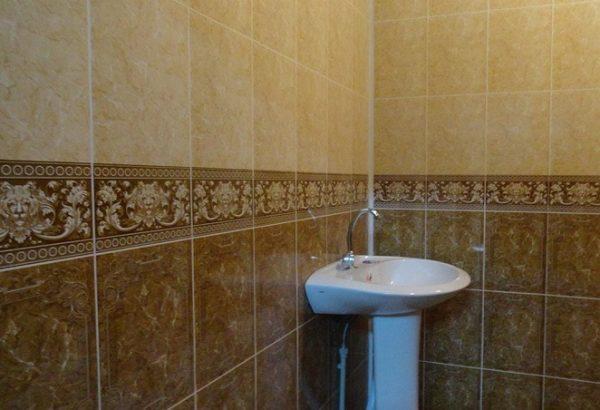 Ванная с панелями