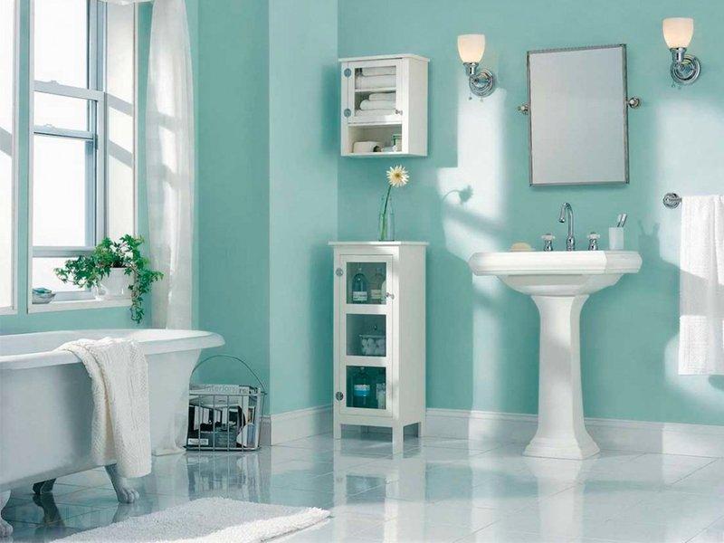 Долой кафель, или как отделать ванную комнату дёшево