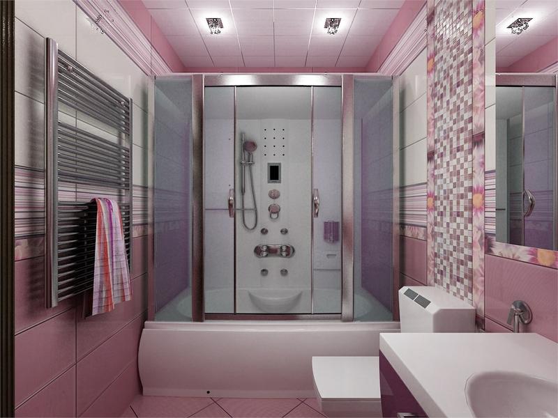Дизайн ванной комнаты 5 кв. м: идеи на фото