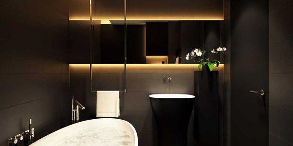 освещение ванной комнаты в хрущевке