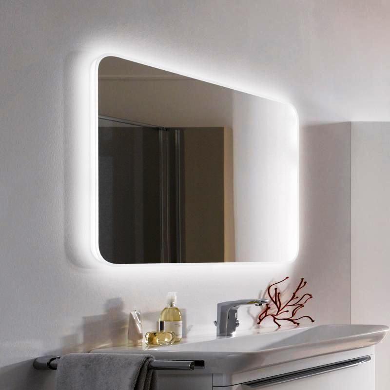 Картинки зеркал для ванной комнаты с подсветкой