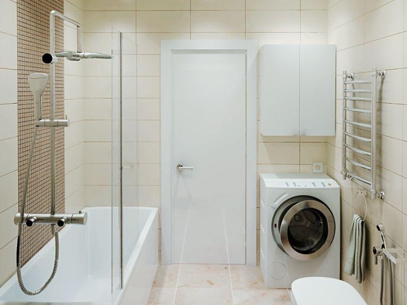 Как обустроить ванную комнату маленького размера: лучшие идеи на фото
