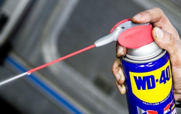 Состав WD-40 для удаления ржавчины и краски