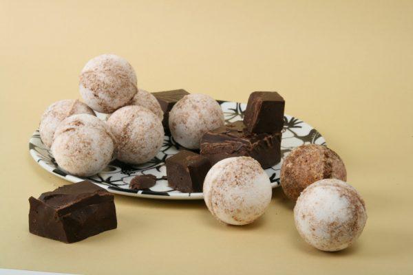 Бомбочки для ванны с шоколадом