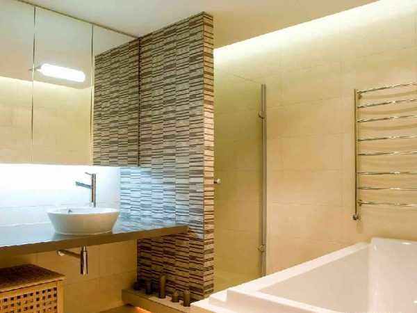 Перегородка в ванной комнате из гипсокартона