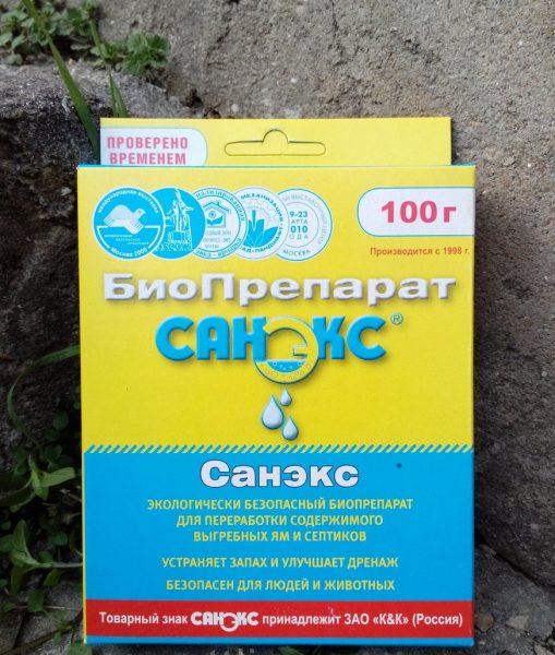 Биоферментные препараты для избавления от запаха в дачном туалете