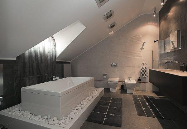 Ванная в стиле минимализм