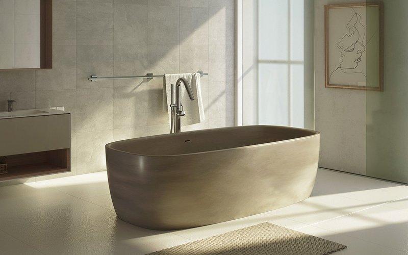 Ванная в стиле минимализм: идеи на фото