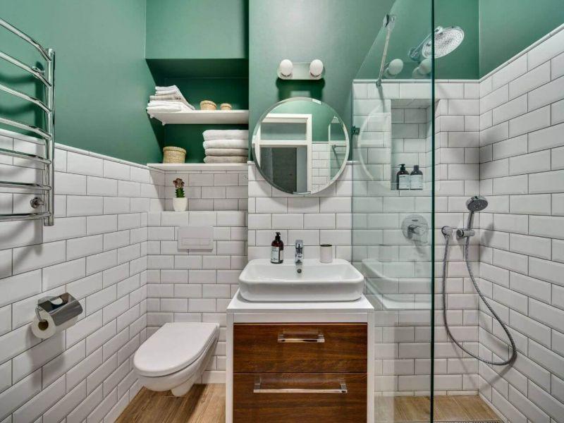 Чем отделать ванную комнату в деревянном доме