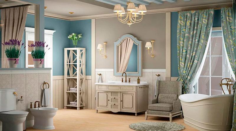 Ванная комната в стиле прованс: фото-идеи для вдохновения