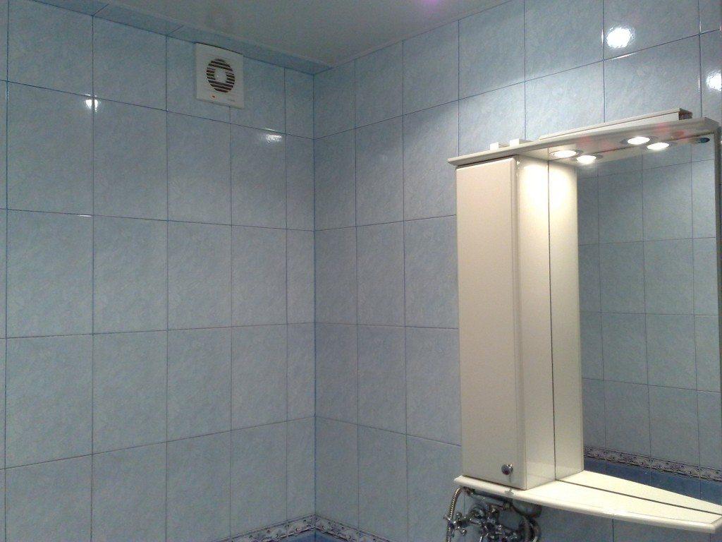 Размер вытяжки в ванной комнате