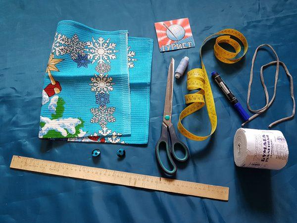 Приспособления и материалы для изготовления держателя туалетной бумаги