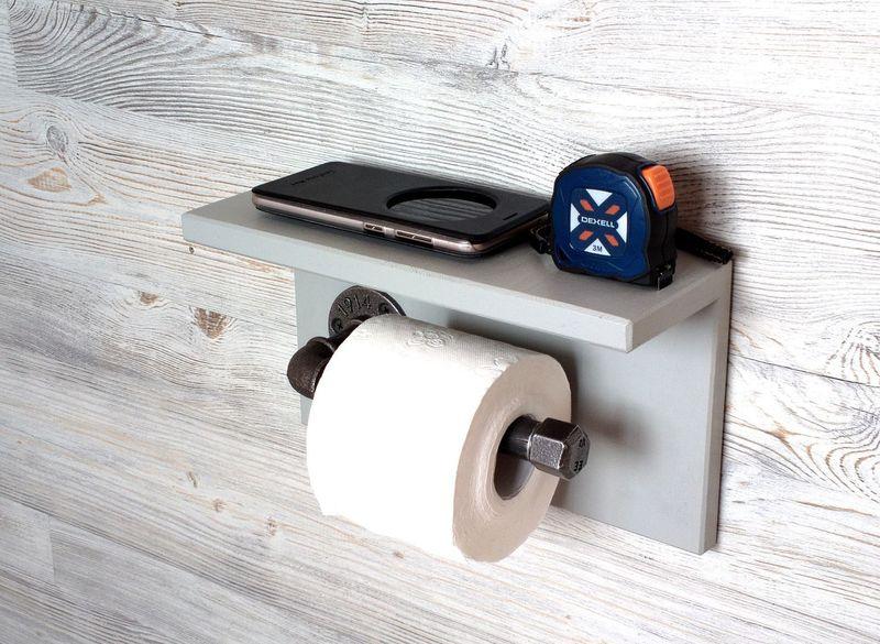 Держатель для туалетной бумаги своими руками: мастер-класс