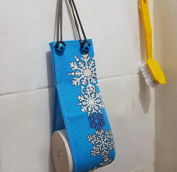 Готовый держатель для туалетной бумаги