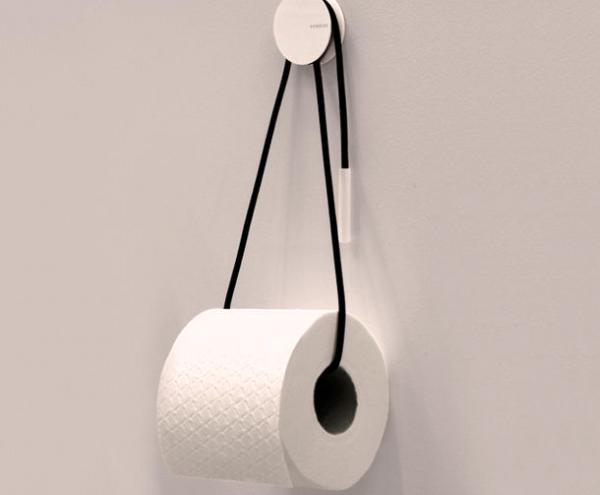 Держатель для туалетной бумаги из шнура