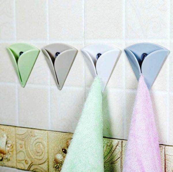 оригинальные крючки для полотенец в ванную комнату
