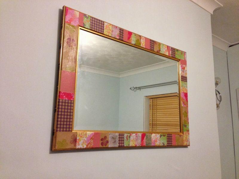 Как оформить зеркало своими руками для ванной: создаём интересные предметы быта