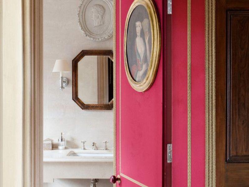 Как обновить дверь в ванную комнату: идеи на фото