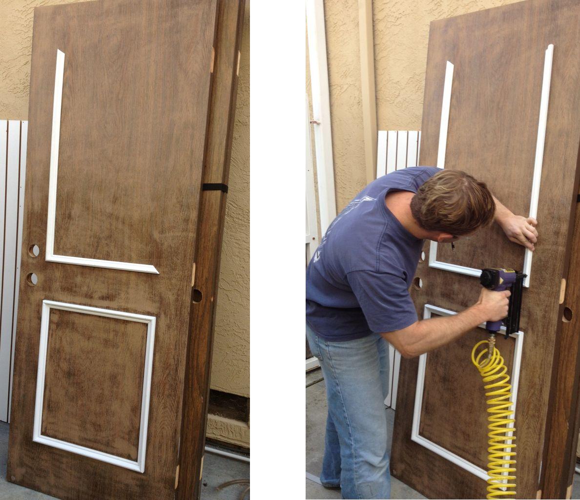 чем можно обновить железную дверь с фото самом деле возможных