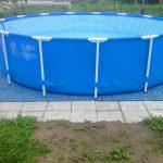 площадка под каркасный бассейн